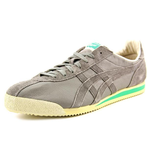 Onitsuka Tiger by Asics Men's Tiger Corsair Vin Grey Suede Regular Athletic Shoes