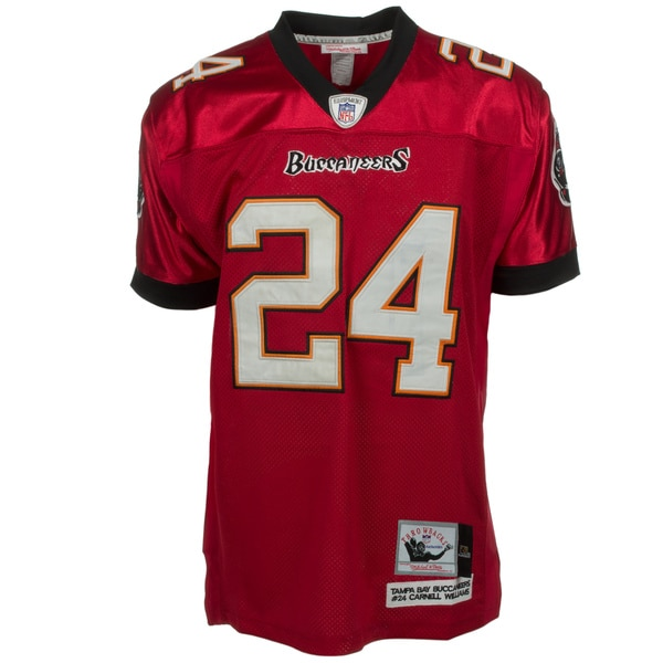Cadillac Williams Jersey #24 NFL Tampa Bay Buccaneers Mitchell & Ness in Red
