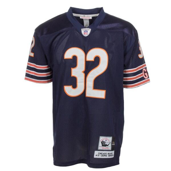 Cedric Benson Jersey #48 NFL Chicago Bears Mitchell & Ness in Navy