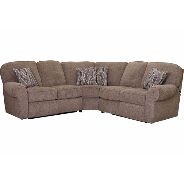Lane Furniture Griffin Tan Fabric Wedge Sofa