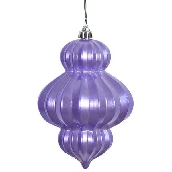 Lavender 6-inch Candy Lantern Ornaments (Pack of 3) 20785459