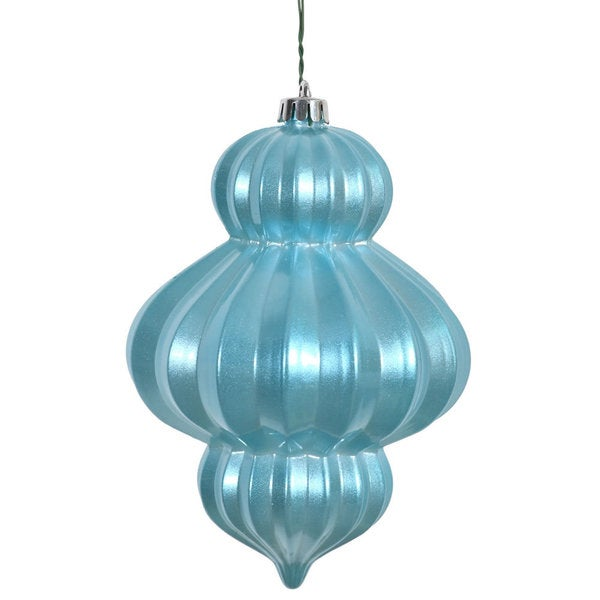 Baby Blue Candy 6-inch Lantern Ornament (Pack of 3)