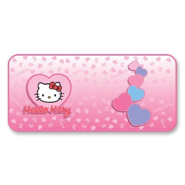 Hello Kitty Hearts Design Pink Polyester Spring Sunshade