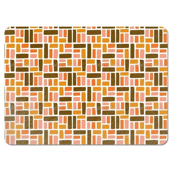 We Place Rectangles Placemats (Set of 4)