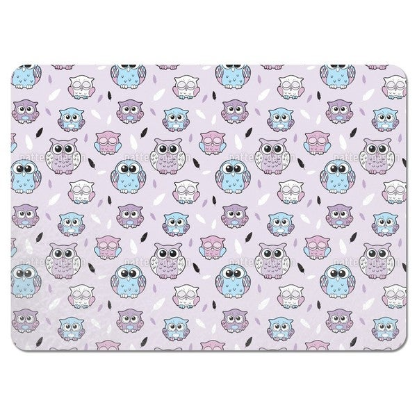 Sleep Little Owl Placemats (Set of 4)