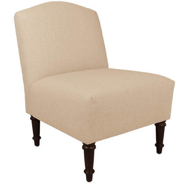 Skyline Furniture Twill Natural Camel Back Chair