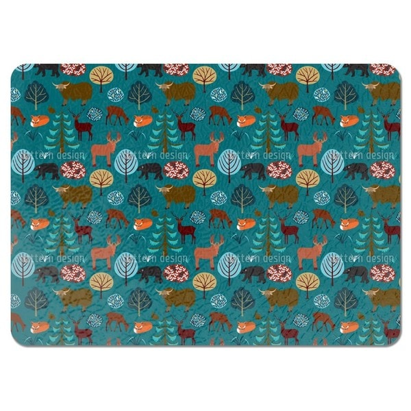 Into the Forest Placemats (Set of 4)