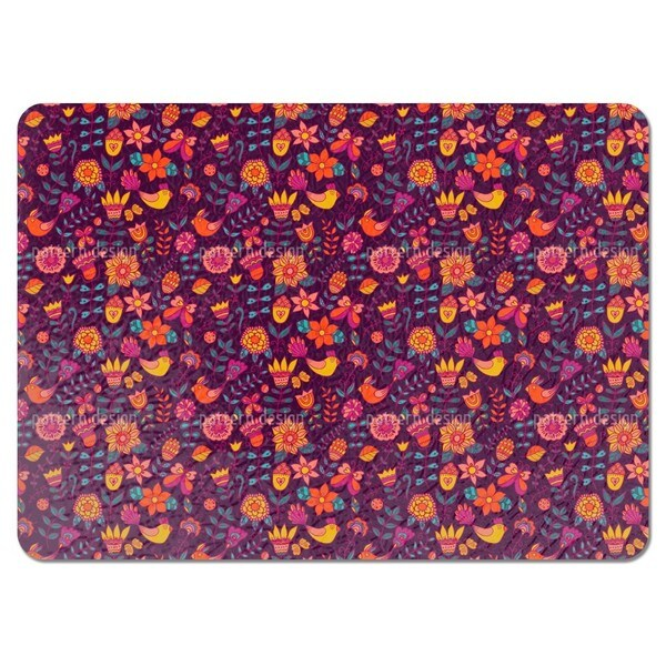 Summer Night in the Bird Paradise Placemats (Set of 4)