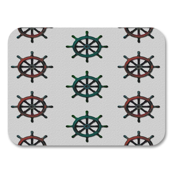 Ships Wheel 2 Placemats (Set of 4)