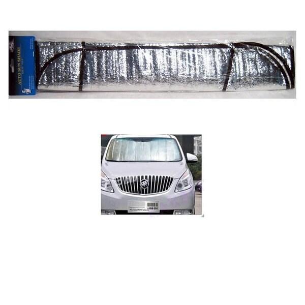 Silver-colored Solar Screen Car Windshield Sunshade