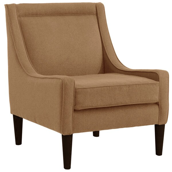 Skyline Furniture Skyline Premier Saddle Mid Century Swoop Arm Chair