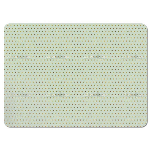 Polkadots Pale Blue Placemats (Set of 4)