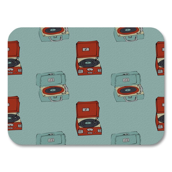 Retro Record Players Placemats (Set of 4)