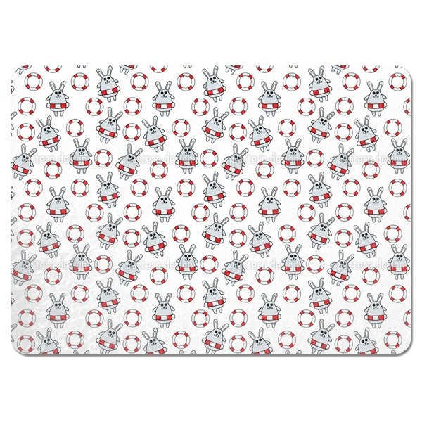 Rescued Rabbits Placemats (Set of 4)