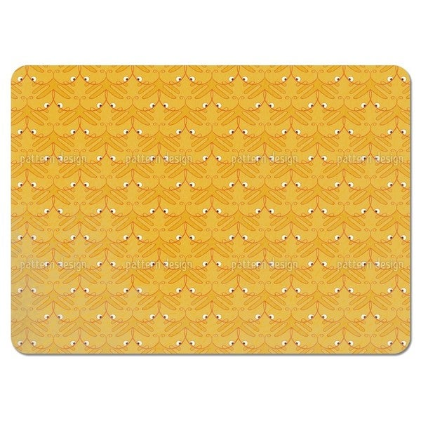 Tiger Paw Placemats (Set of 4)