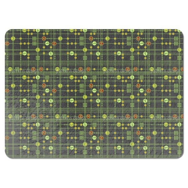 One Two Three Placemats (Set of 4)