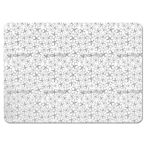 Flower Sketches Placemats (Set of 4)