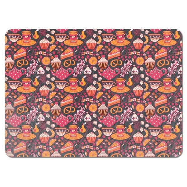 Coffee Party at Tiffanys Placemats (Set of 4)