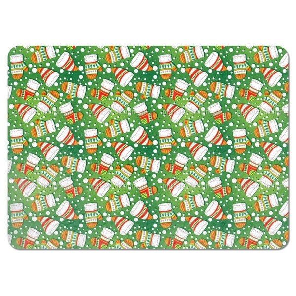 Christmas Knitwear Placemats (Set of 4)