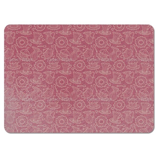 Hen Party Red Placemats (Set of 4)