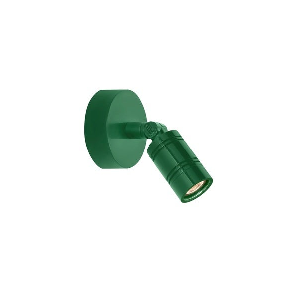 Troy RLM Lighting LS LED Bullet Head Hunter Green Monopoint Surface Mount