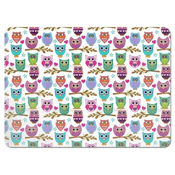 The Big Owl Assembly Placemats (Set of 4)