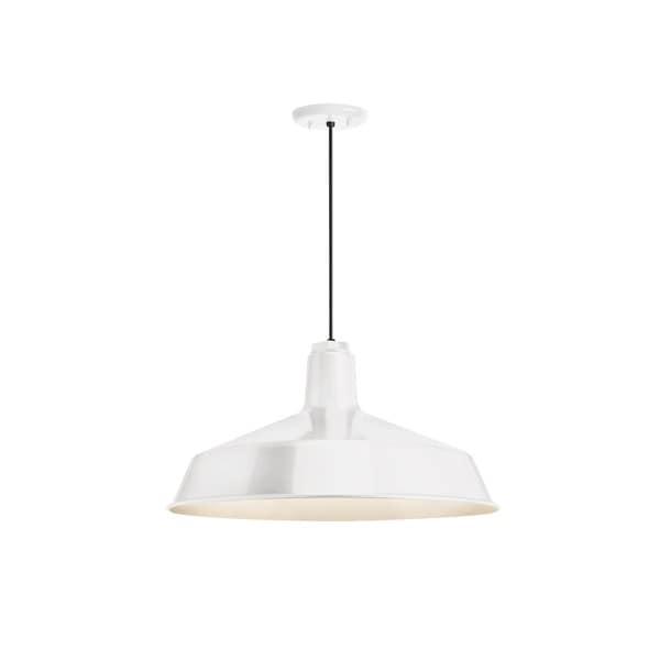 Troy RLM Lighting Standard Gloss White Pendant