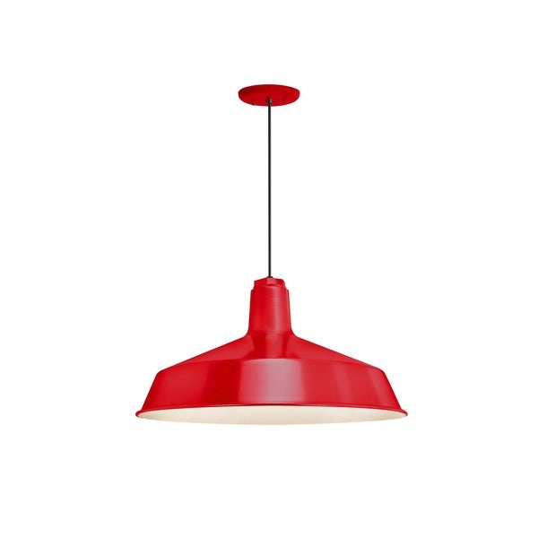 Troy RLM Lighting Standard Red Pendant