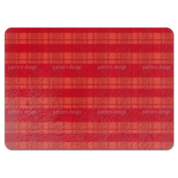 Tartan Red Placemats (Set of 4)