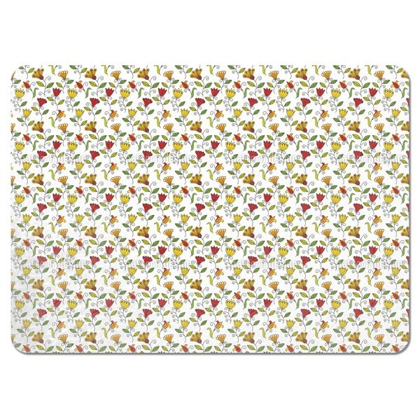 Summer Flower Joy Placemats (Set of 4)
