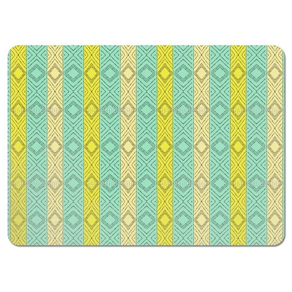 Drawing a Line Placemats (Set of 4)