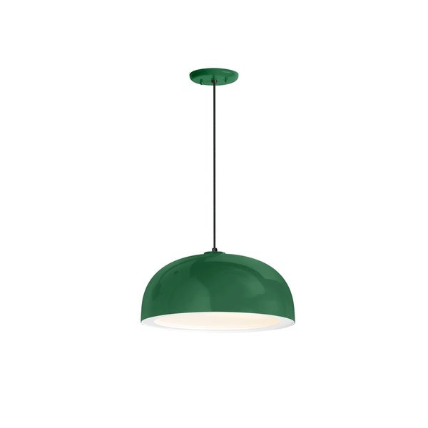 Troy RLM Lighting Dome Hunter Green Pendant, 16 inch Shade