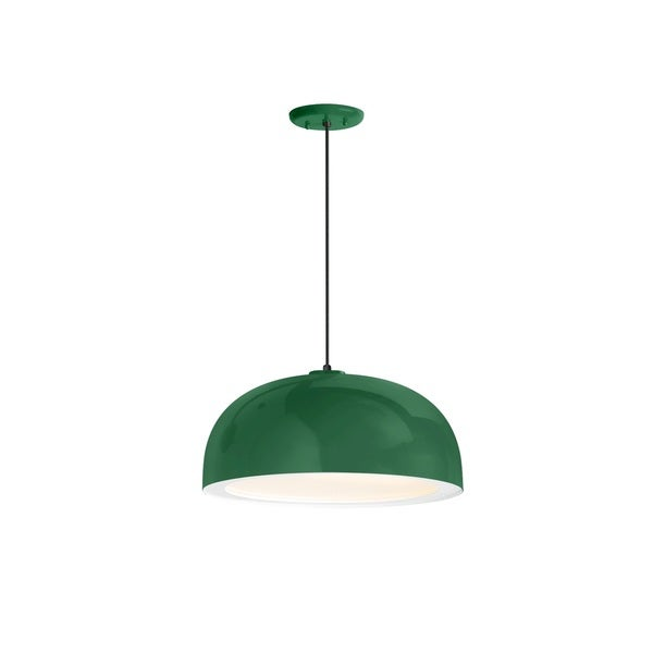 Troy RLM Lighting Dome Hunter Green Pendant, 14 inch Shade