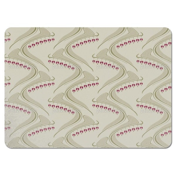 Heart Shaped Beige Placemats (Set of 4)