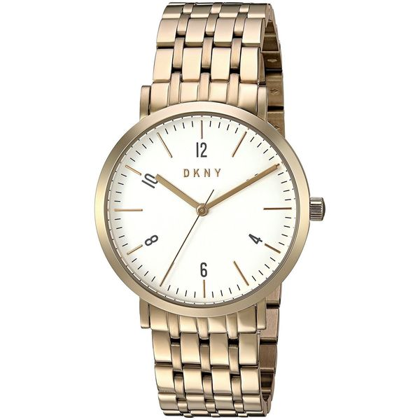 DKNY Women's NY2503 'Minetta' Gold-Tone Stainless Steel Watch