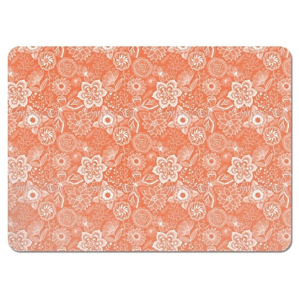 Summer Garden Afterglow Placemats (Set of 4)