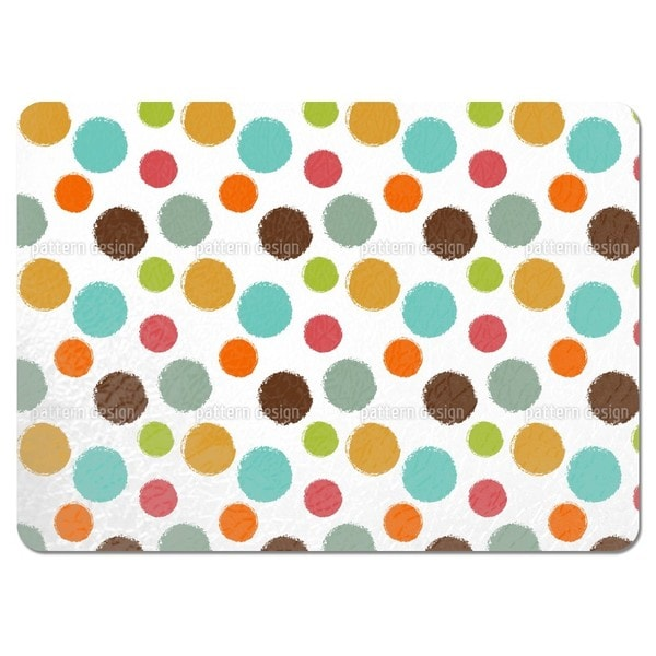 Ice Cream Scoops Placemats (Set of 4)