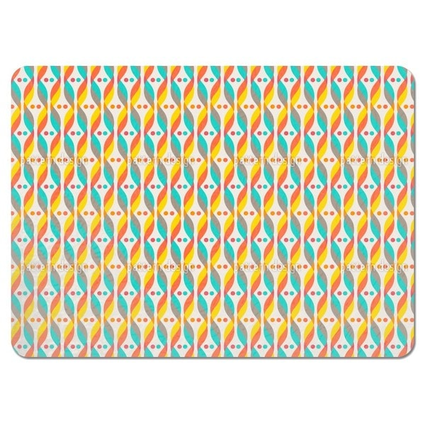 Retro DNA Placemats (Set of 4)