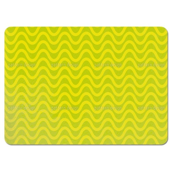 Limoncello Wellen Placemats (Set of 4)