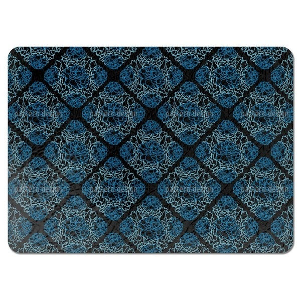 Rose Dream Black Placemats (Set of 4)