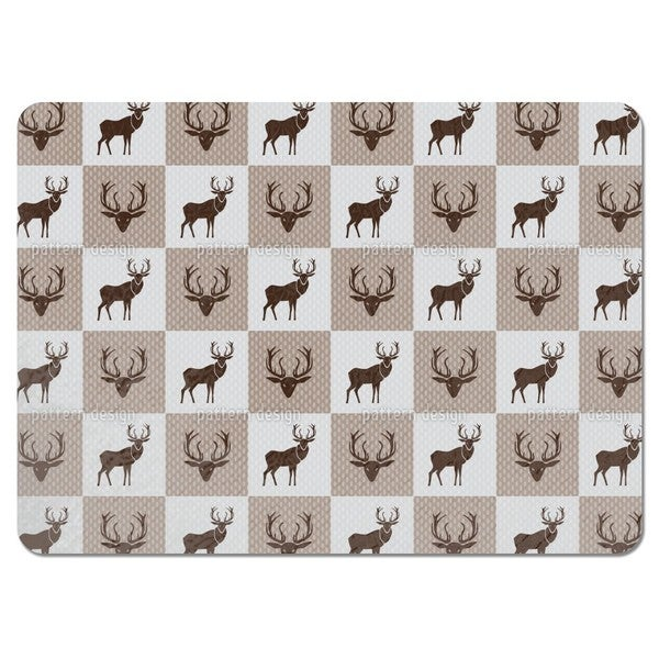 The Forest King Brown Placemats (Set of 4)