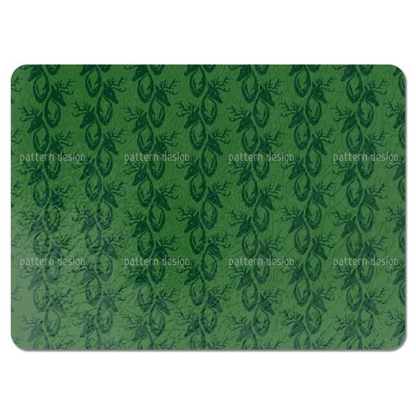 Green Stag Placemats (Set of 4)