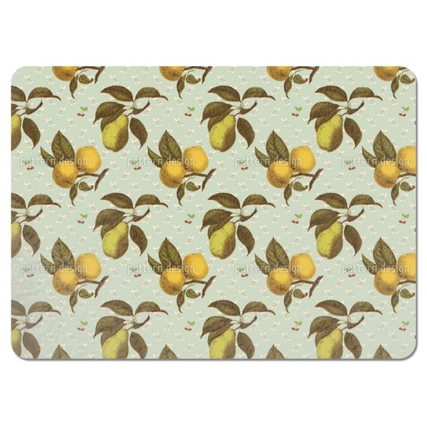 Rendevous with Fruits Placemats (Set of 4)
