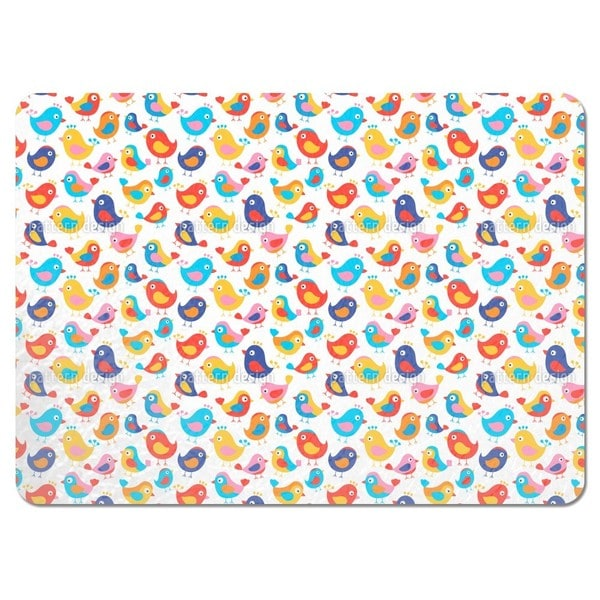 Happy Birds Placemats (Set of 4)