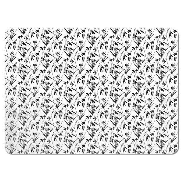 Snowdrops Placemats (Set of 4)