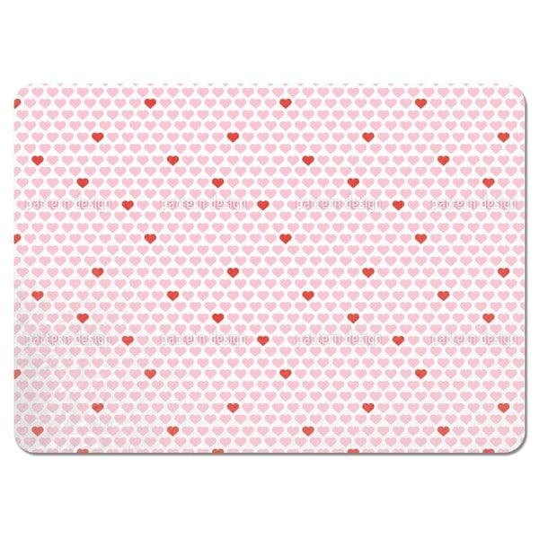 My Valentine Heart Placemats (Set of 4)