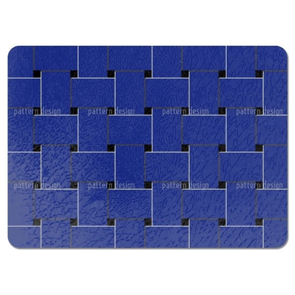 Blue Weave Placemats (Set of 4)