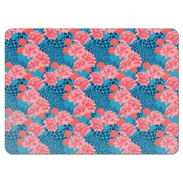 Leopards Love Peonies Placemats (Set of 4)