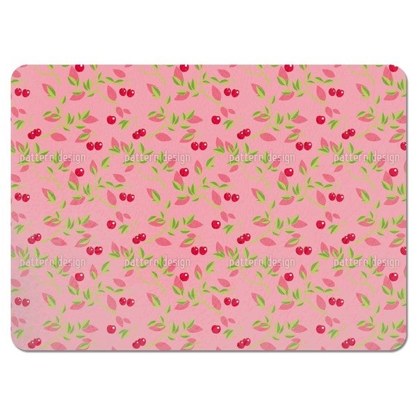 Cherry Branches Pink Placemats (Set of 4)