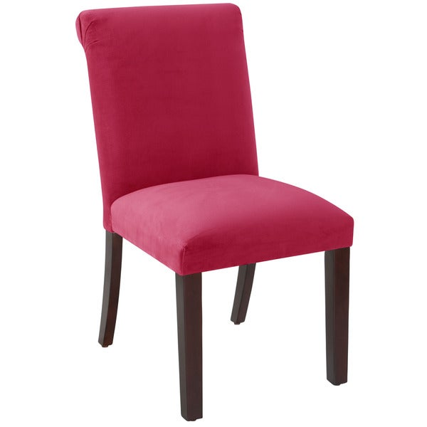 Skyline Furniture Regal Sangria Rolled Back Dining Chair